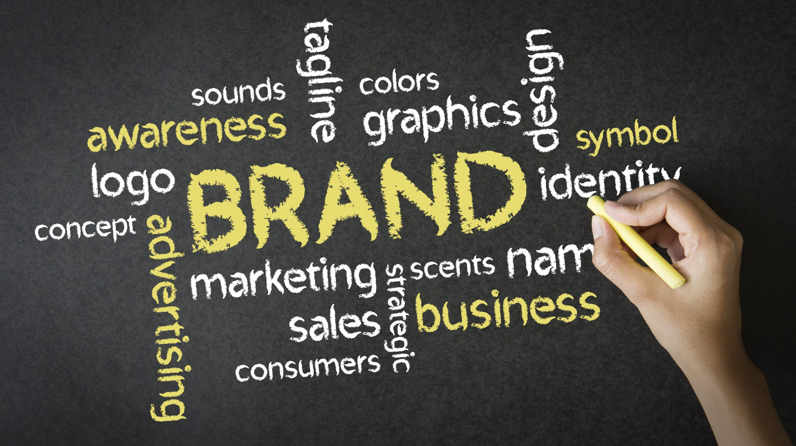 dj brand identity
