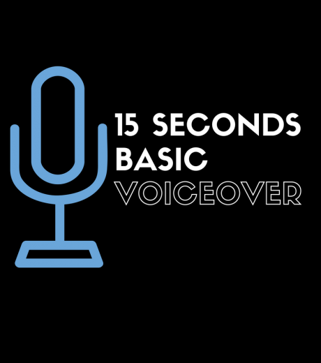 basic voiceover 15 seconds