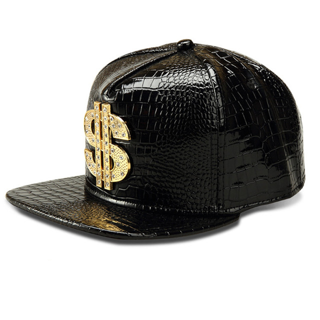 Download Dj Dollar Bill: 2017 Vogue Dollar Logo Crocodile Hip Hop Rap PU Leather