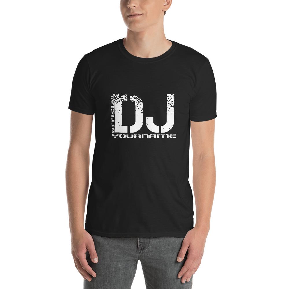 Unisex Cotton T-Shirt Tee Shirt DJ NAMES